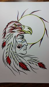 Warrior n eagle