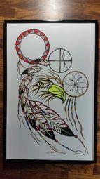 Native art by Allan Joseph