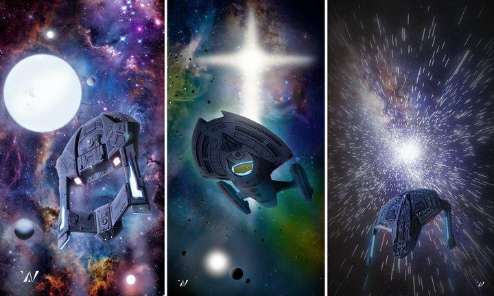 The Three Explorers Panel - Blabberdock (Nathan Warner)