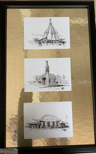 OKC Iconic buildings - sketches