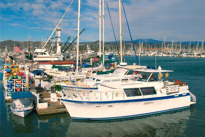Ventura Harbor California - Ram Vasudev
