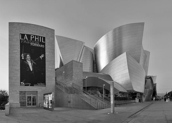 Walt Disney Concert Hall - B&W - Ram Vasudev