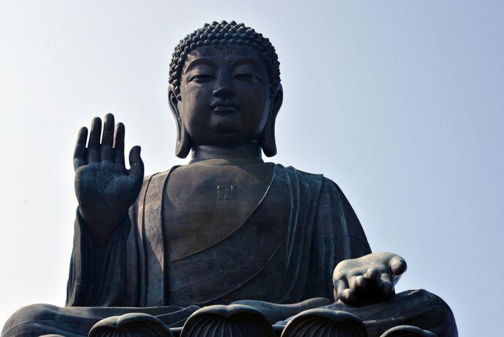 Giant Buddha - ICE ART