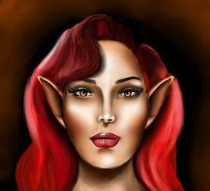 my elf girl