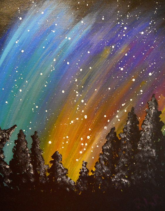 Aurora Borealis - Rochelle Bowman