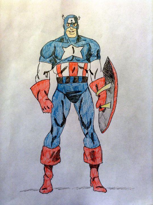 Captain America - Brents Image