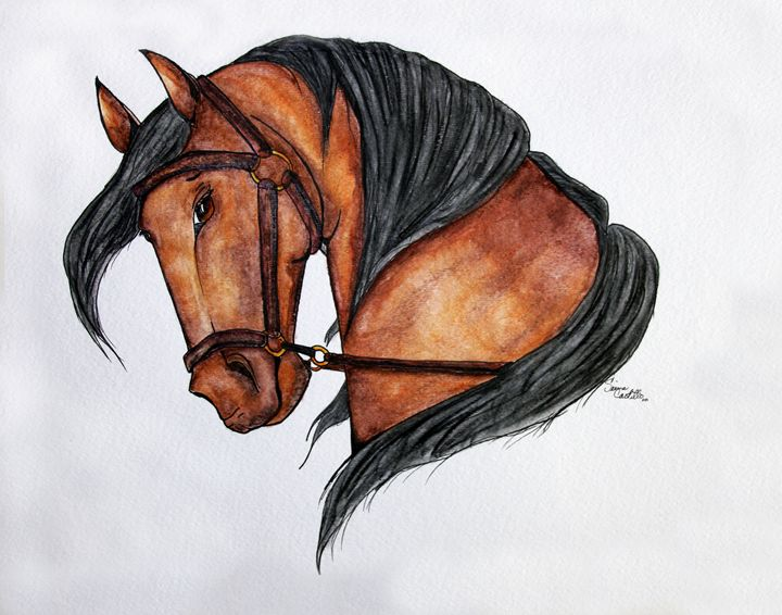 Gentle Horse - ArtsSie Desgins