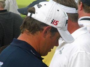 Lee Westwood golf print