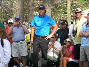 Phil Mickelson golf print