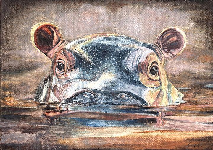 Happy Hippo - Emma Mooring