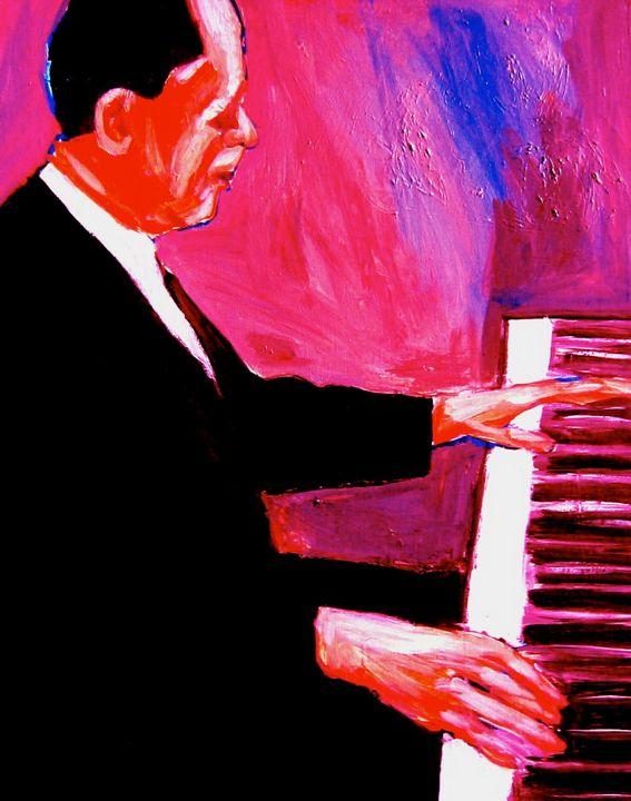 Red Piano - Robert Lederman