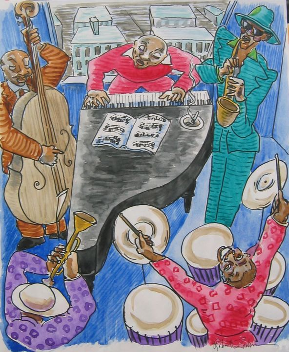 Harlem Jam Session - Robert Lederman