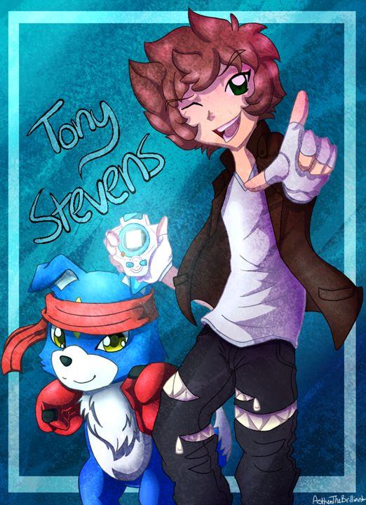 Digimon [OC] Tony Stevens - Salty And Sweet Prints