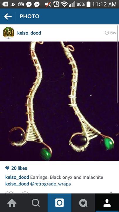 Earrings -  Kelsey.enea