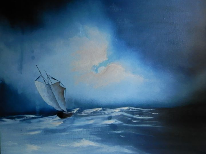 Twins seascapes - Laura Weddell