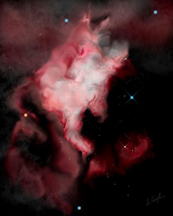 North American Nebula - EtaGemini Art