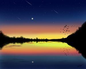 Sunset Meteors