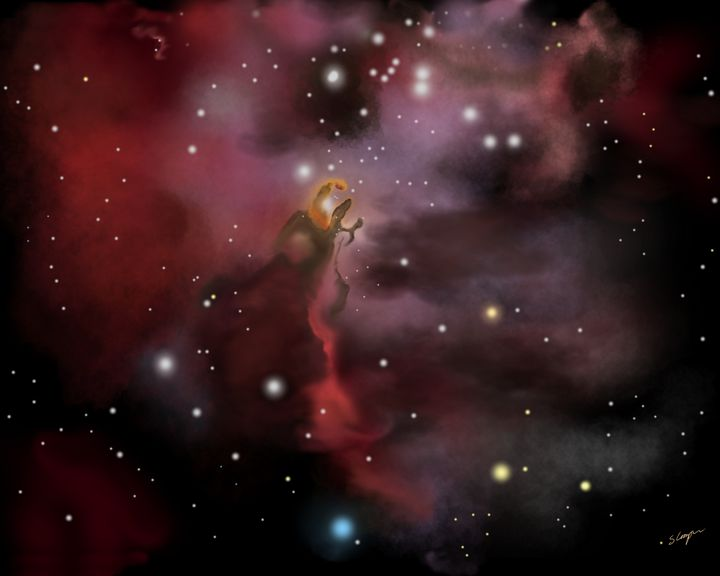 Eagle Nebula - EtaGemini Art