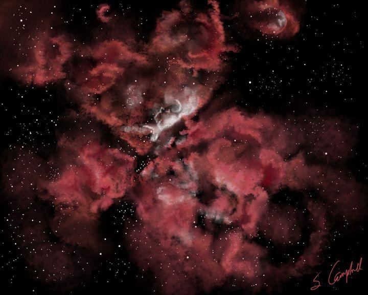 Eta Carinae Nebula - EtaGemini Art