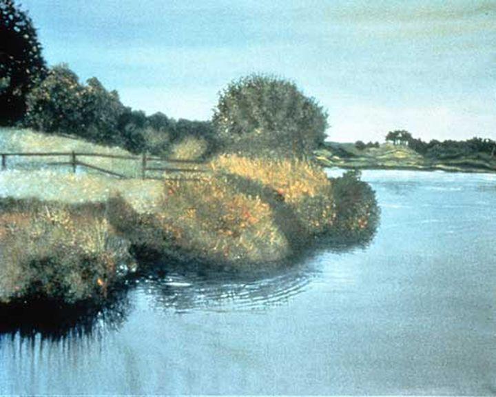 Duck Pond - Rosenfeld Fine Art