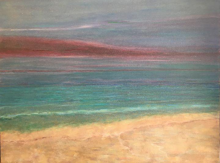 Sandy Beach - Rosenfeld Fine Art