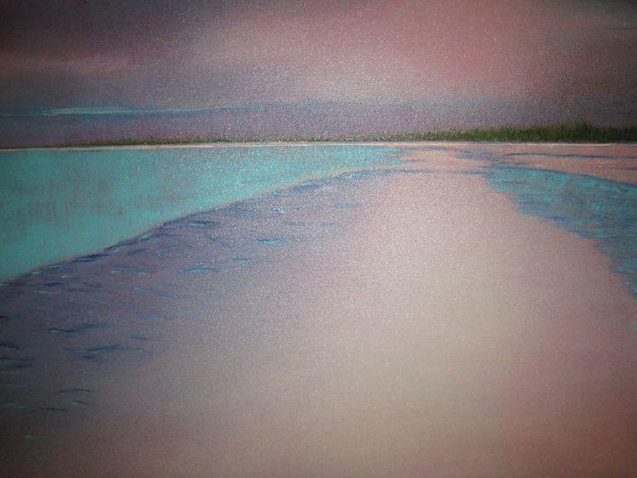 Turquoise Water - Rosenfeld Fine Art