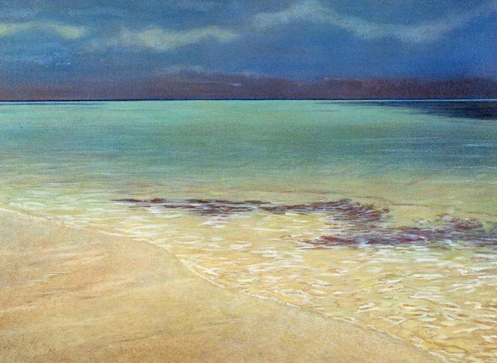 Green Water II - Rosenfeld Fine Art