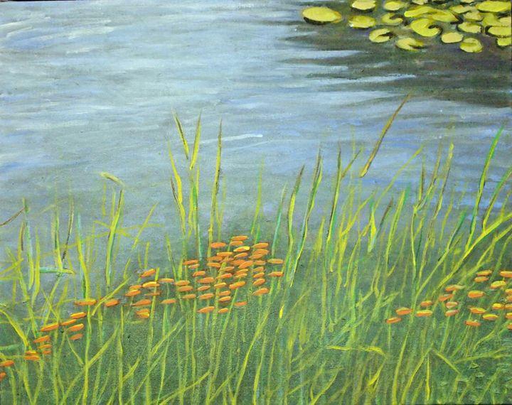 Pond 4 - Rosenfeld Fine Art
