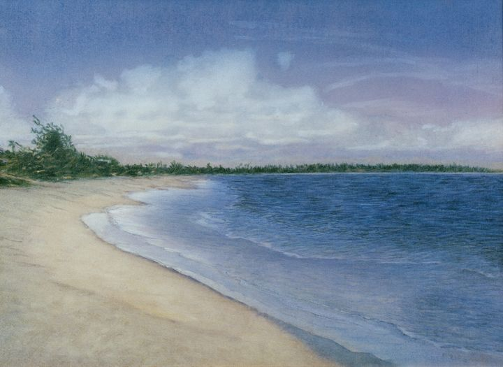 Blue Water - Rosenfeld Fine Art