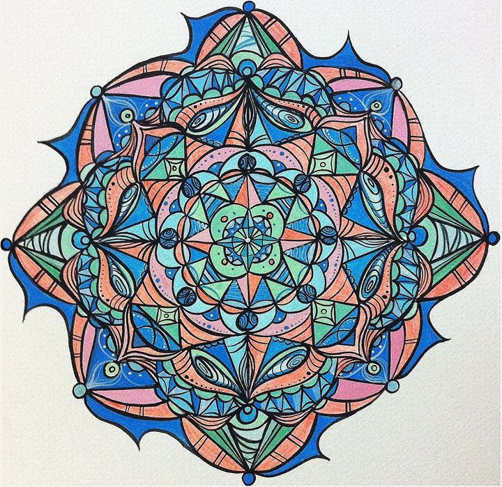 Time Fusion - Margo's Mandalas & More