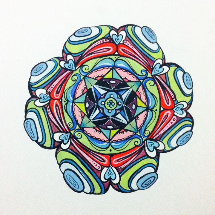 Cosmic Love - Margo's Mandalas & More