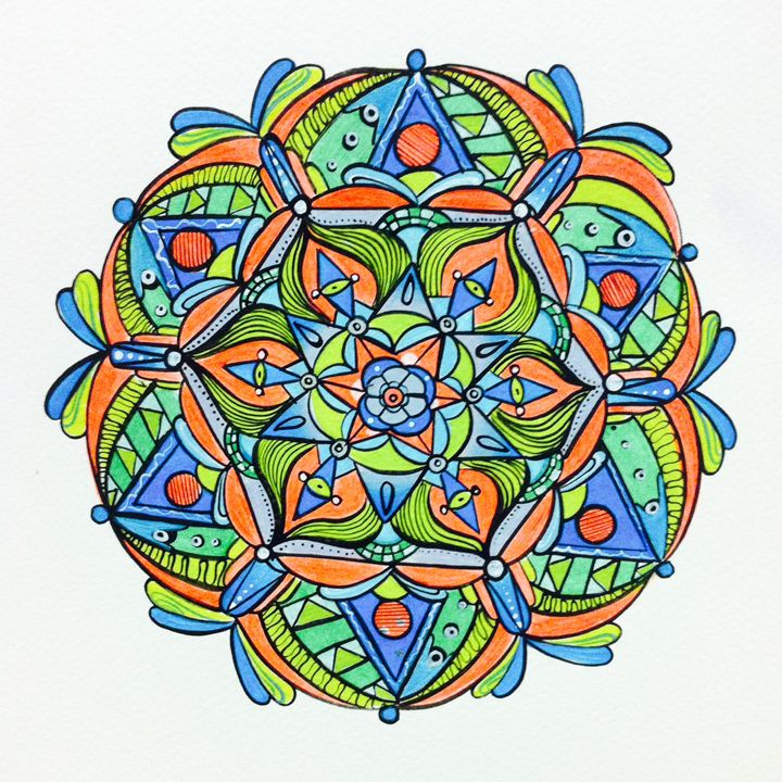 Fluor-Essence - Margo's Mandalas & More