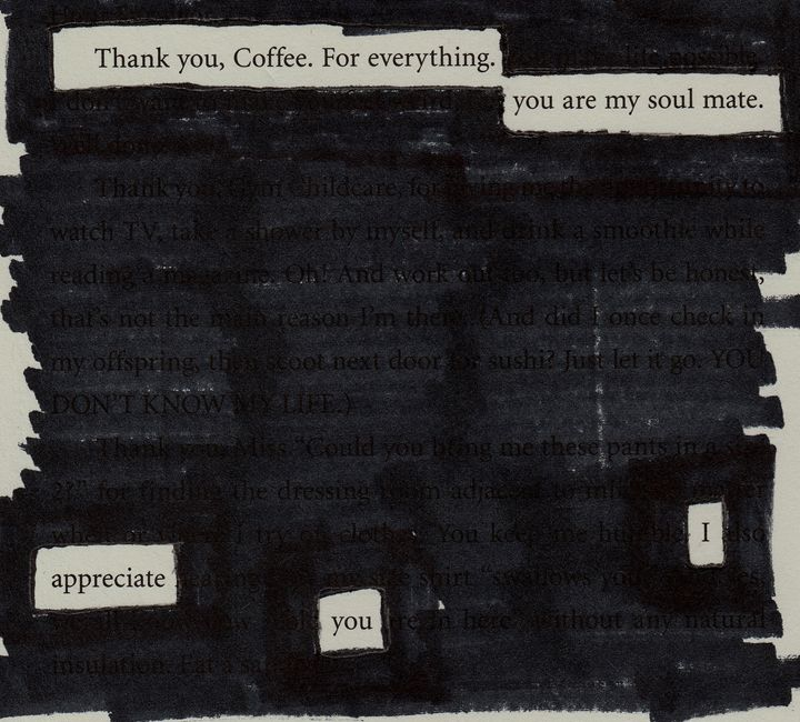 Thank you, Coffee. - Poetry From Books