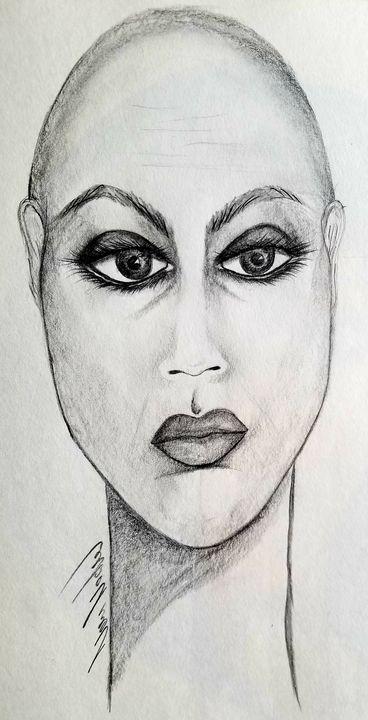 Monica - Art by Nour