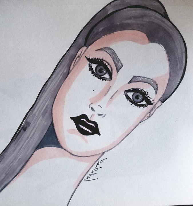 Dana - Art by Nour