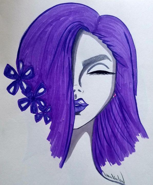 Lilac - Art by Nour