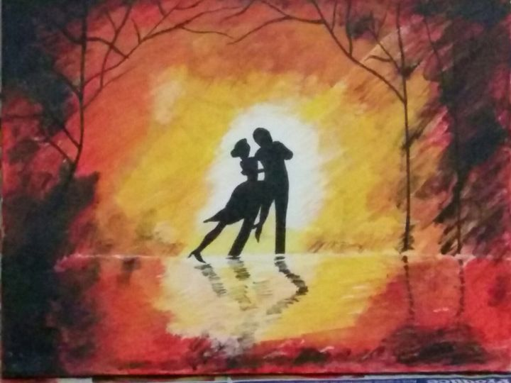 Dancing Couple - Deergha Arts