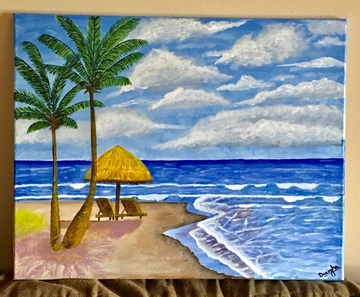Refreshing Beach - Deergha Arts