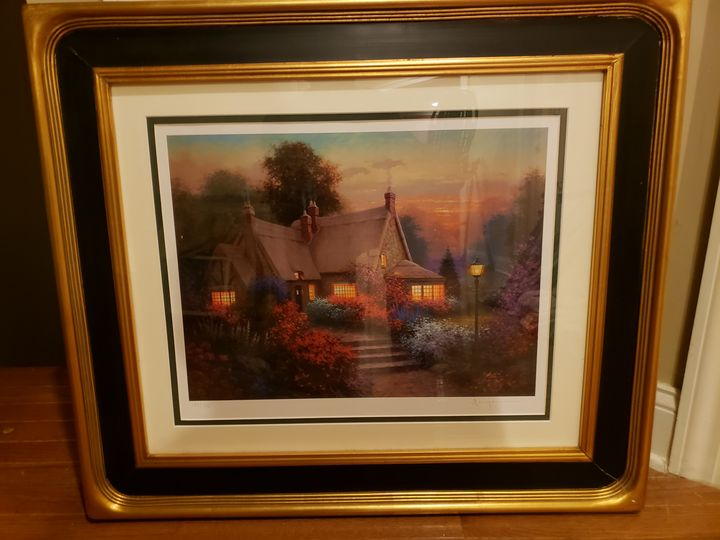 Cottage Painting - Unknown