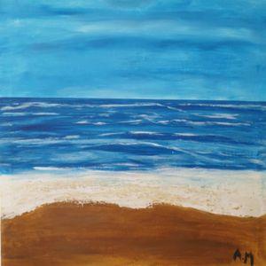 Aegean blue calmness