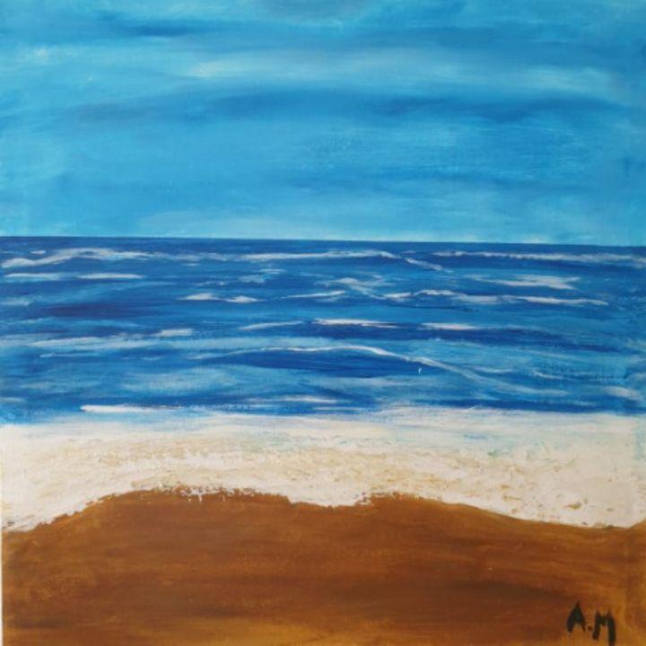 Aegean blue calmness - Arlind Mukaj