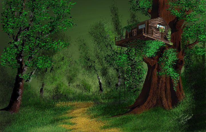 tree house - Junaid Ameer Work