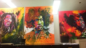 - Marley, Hendrix, Hendrix