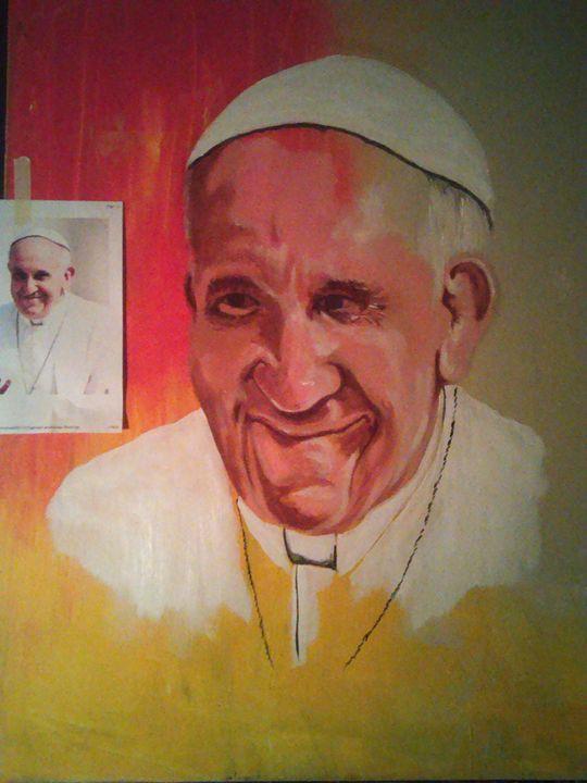 The Pope - brushstroke777