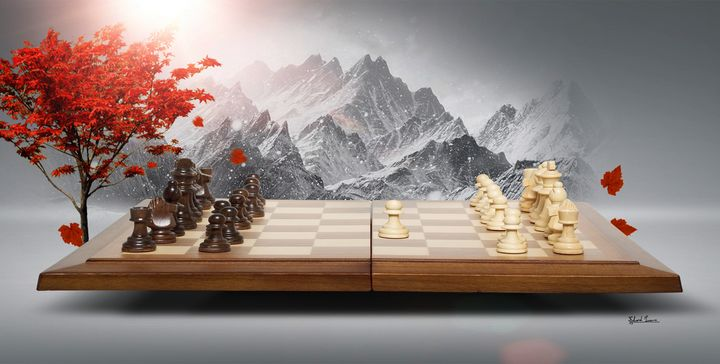 Let Play Chess - EJL Designs