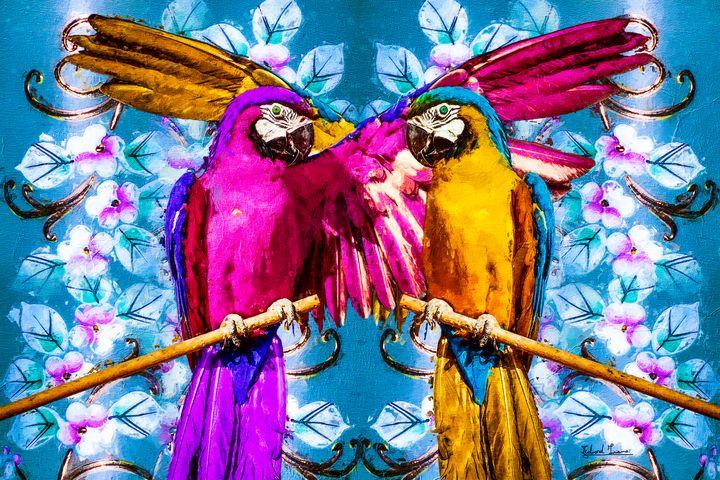 Heaven Parrots - EJL Designs