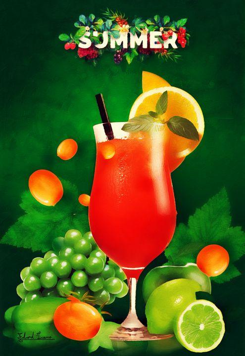 Summer Cocktail - EJL Designs