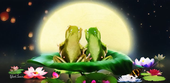 Frogs of love - EJL Designs