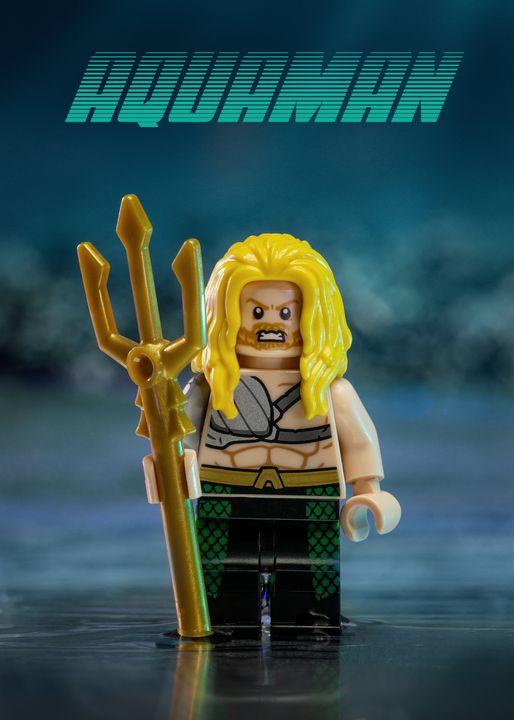 Aquaman - Lego prints