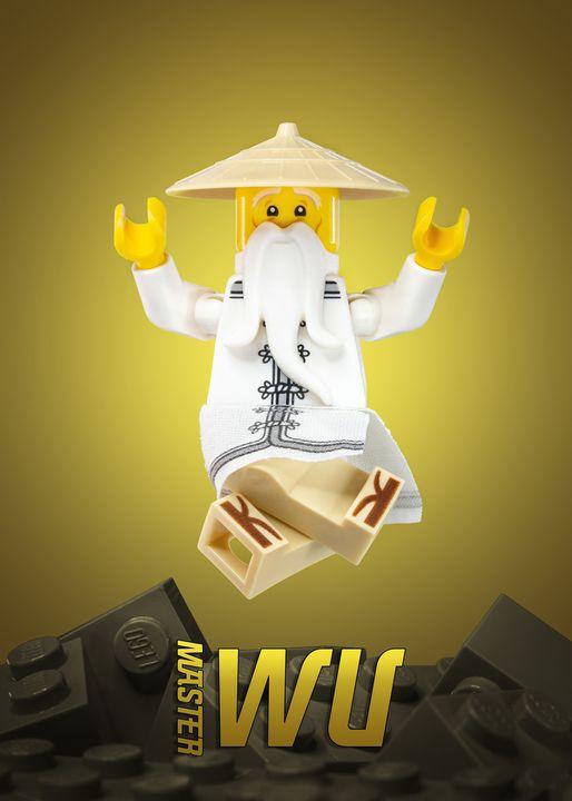 Master Wu - Lego prints